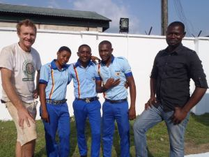 Dennis and the Oando team