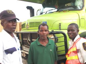 Mr Siaffa, Jucket and Clarence
