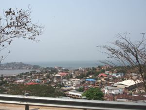 Freetown is very Cape Town in places