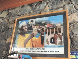 Boubacar Joseph Ndiaye creator of the slave tourism industry on Gorée