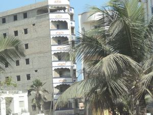 Typical view of Dakar's built up areas