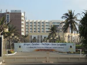 The King Fahd Palace – the biggest hotel in Dakar - a gift to Senegal from Saudi Arabia