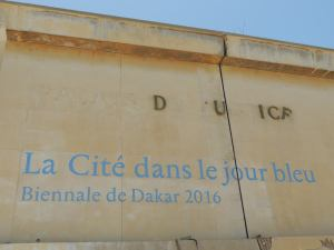 where the Biennale installed the main exhibition of Dak'Art 2016