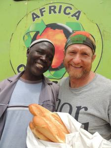 M. Dioda delivered fresh baguettes every day to Ngor Lounge and insisted on treating us to many